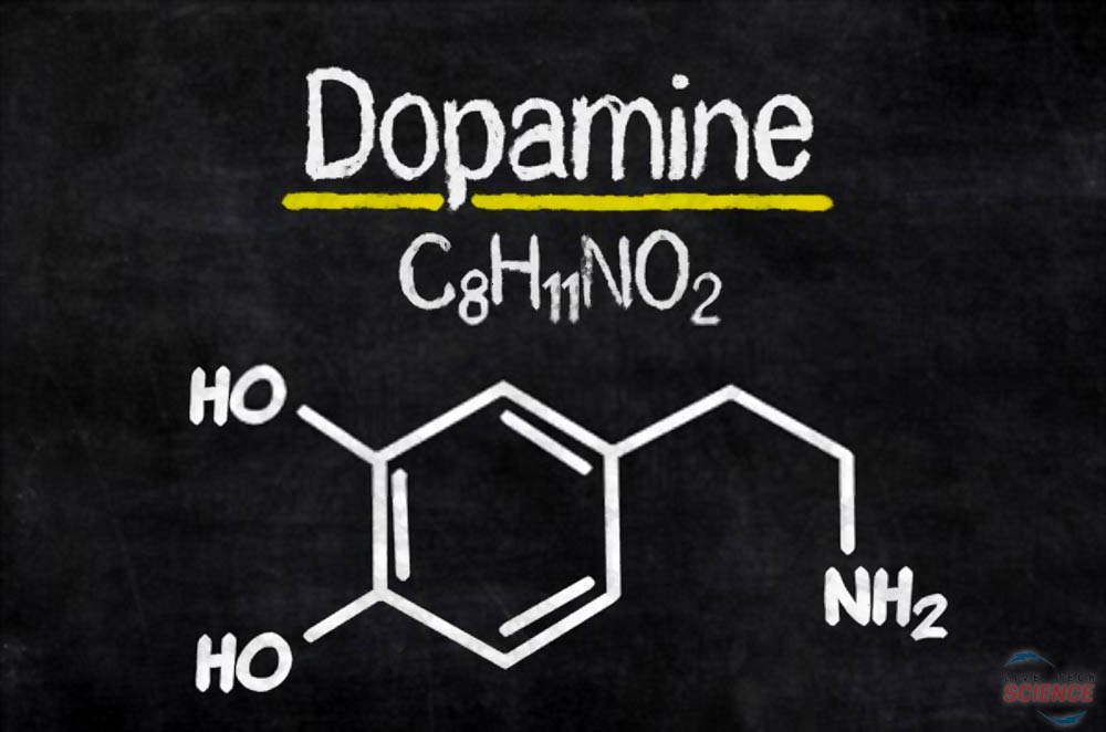dopamine-formula-on-blackboard